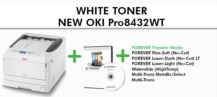 927958e6 The new OKI Pro8432WT White Toner Printer has arrived